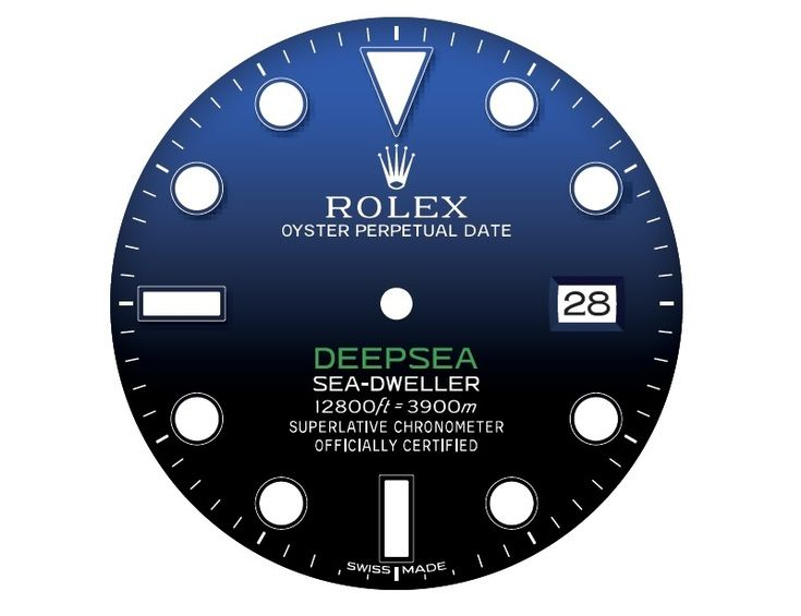 Rolex-deepsea-d-blue-black-gradient-watch-dial
