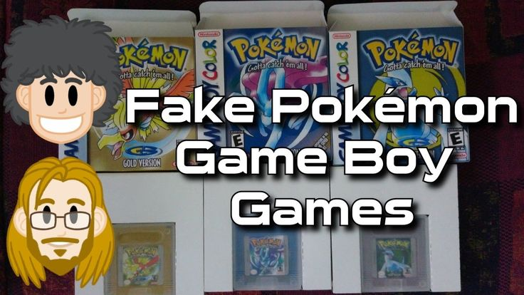 Fake Pokémon Game Boy Games (Scumbag Seller) - #CUPodcast