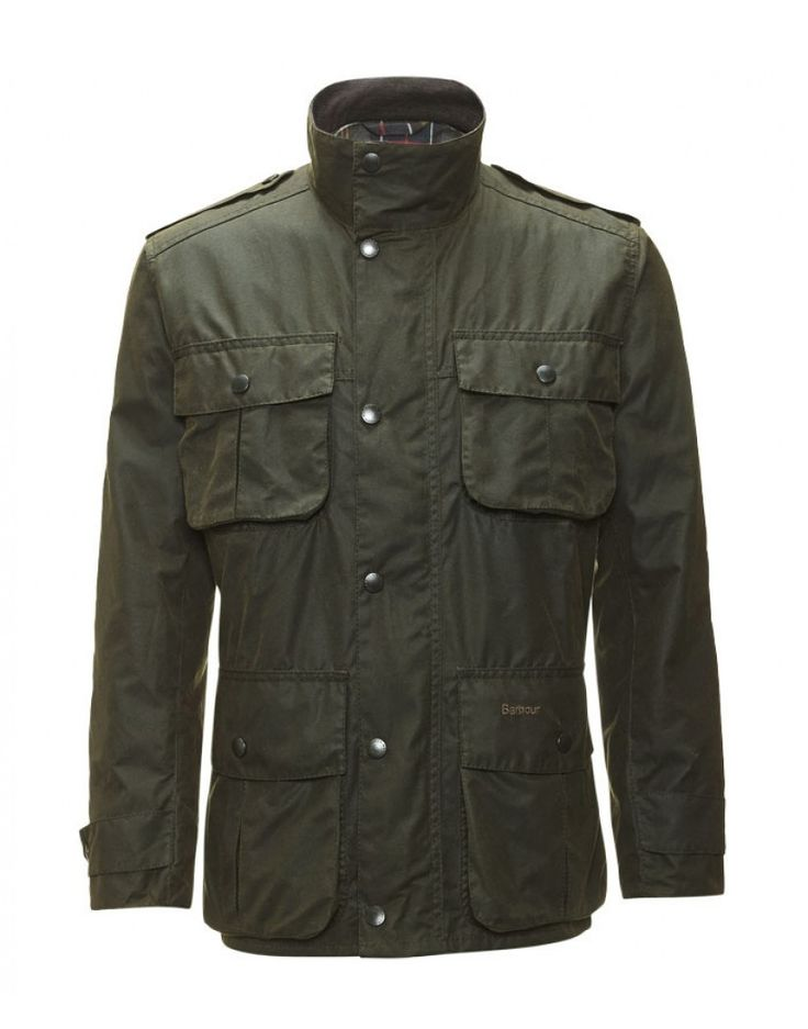 Barbour Men's Trooper Jacket - Olive MWX0019OL71 (A995)