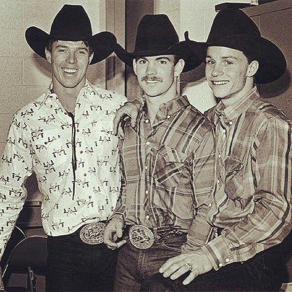 Tuff Hedeman, Jim Sharp, and Ty Murray