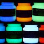 My trick for quickly and easily adding spooky flair to my Halloween props? GloMania paint - invisible in the daytime, glows at night! http://halloweenpartyexperts.com/glomania-luminous-paint-invisible-glow-in-the-dark-paint
