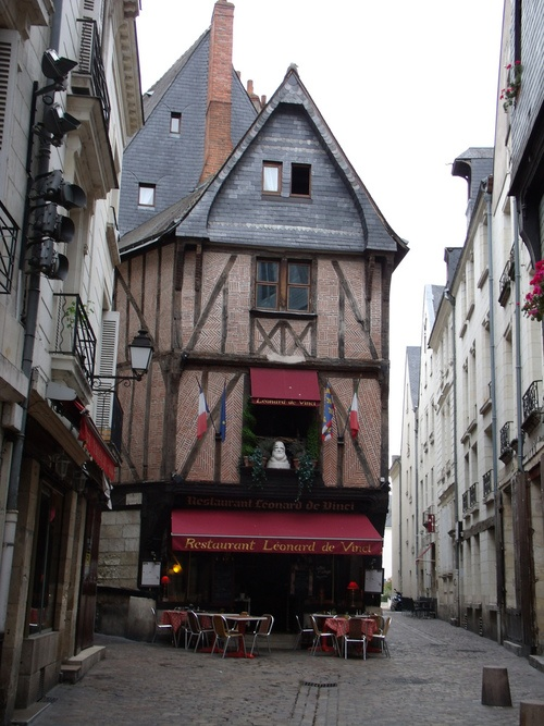 Tours, France. These houses remind me so much of Harry Potter, can't wait to see them in real life
