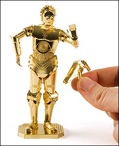 Star Wars™ C-3P0™ Metal Model Kit - Gifts