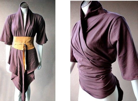 Organic  womens wrap natural eco friendly clothing by econica, $85.00