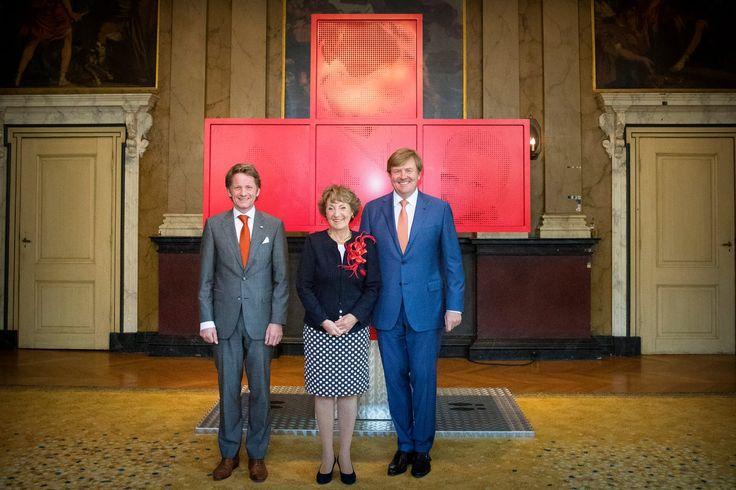 Pieter-Christiaan, Prinses Margriet en Koning Willem-Alexander