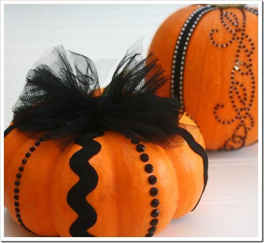 Halloween decorating ideas (pumpkins)