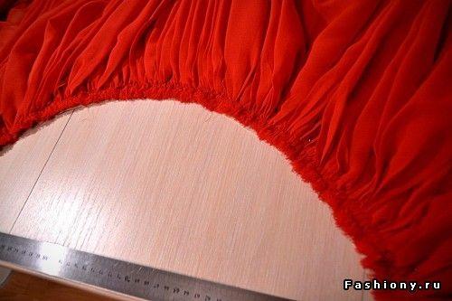 Мастер класс по пошиву платья от кутюр (часть 1)