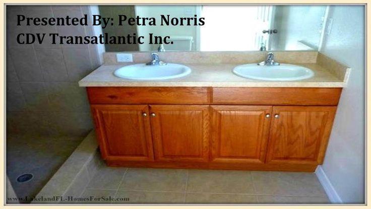 Newly Remodeled 3 Bedroom Lakeland Fl Home For Sale 4711 Kanoy Dr Listing Price 105 000 Lakelandflhomesforsale Solid Wood Cabinets Remodel Underlayment