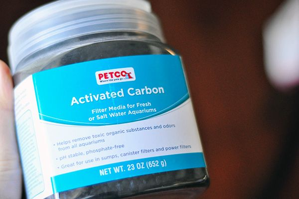 Keep a container of activated carbon (from any pet store) to absorb the odors. Works better than baking soda