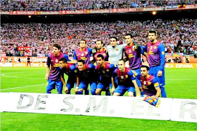 BARCELONA Campeón de la Copa del Rey 2011-12