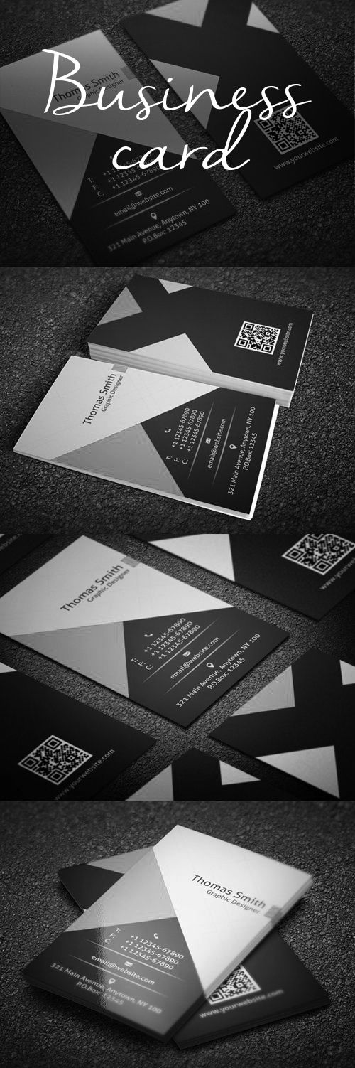 business card portada