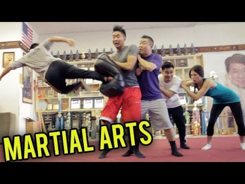 TOP 10 MARTIAL ARTS MOVES YOU SHOULD KNOW. martial arts learning fun with the Fung Bros. These guys are so funny   https://www.youtube.com/watch?v=j4NZYA6HVfw#t=12