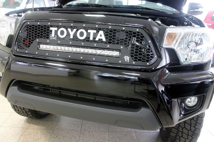 2015 Toyota Tacoma Led Light Bar Front Grille Toyota