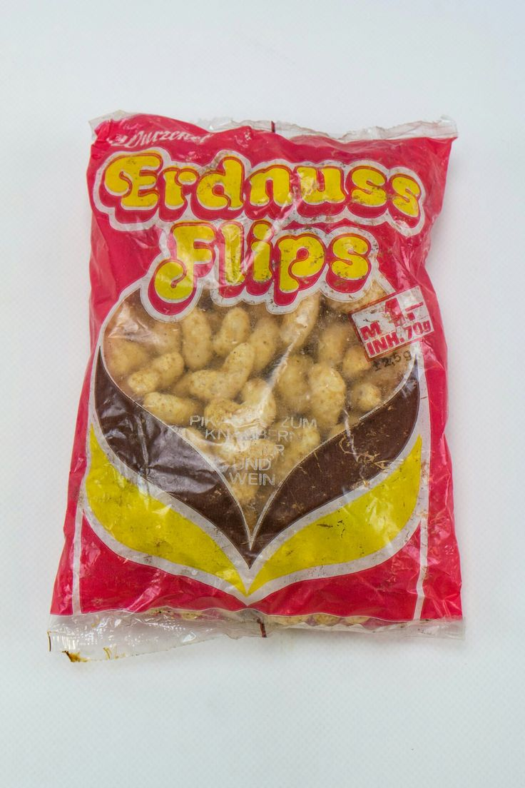Erdnussflips für 1,00 Mark, aus Wurzen