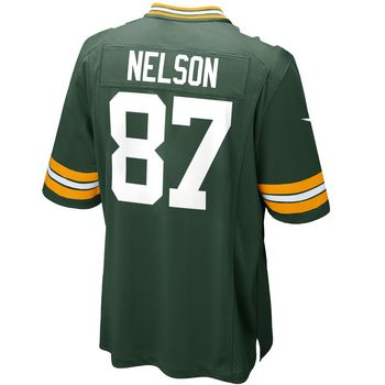 Green Bay Packers #87 Jordy Nelson Home Youth Game Jersey http://www.packersproshop.com/sku/4603176045/