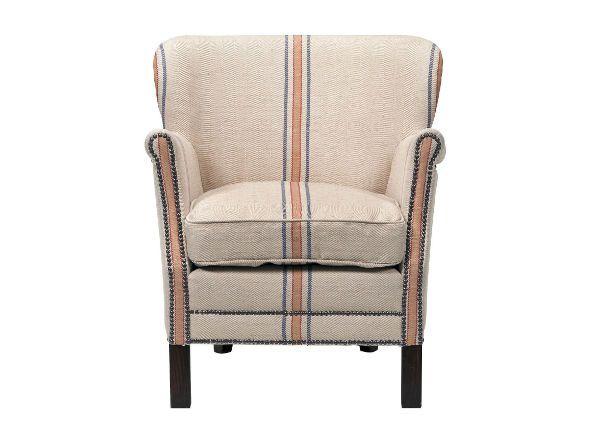 イギリスの家具ブランドHALOとジャーナルスタンダードファニチャーのダブルネーム別注オリジナルソファー。HALOの名作プロフェッサーアームチェアにジャーナルスタンダードの世界が出会い生まれた一人掛けソファーです。