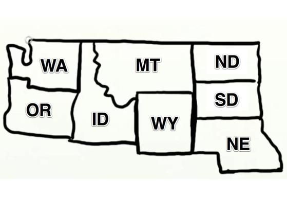How To Draw Usa Map.Great Drawing Tips For The Usa Northwest Draw The Usa Challenge