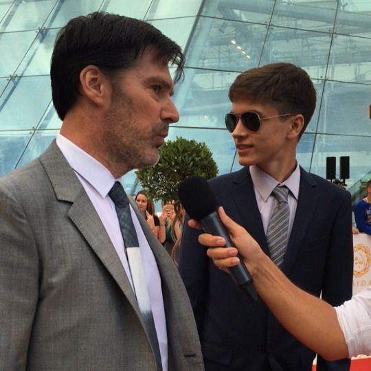 Criminal Minds Feed: Thomas and James Parker at Monte Carlo TV Festival