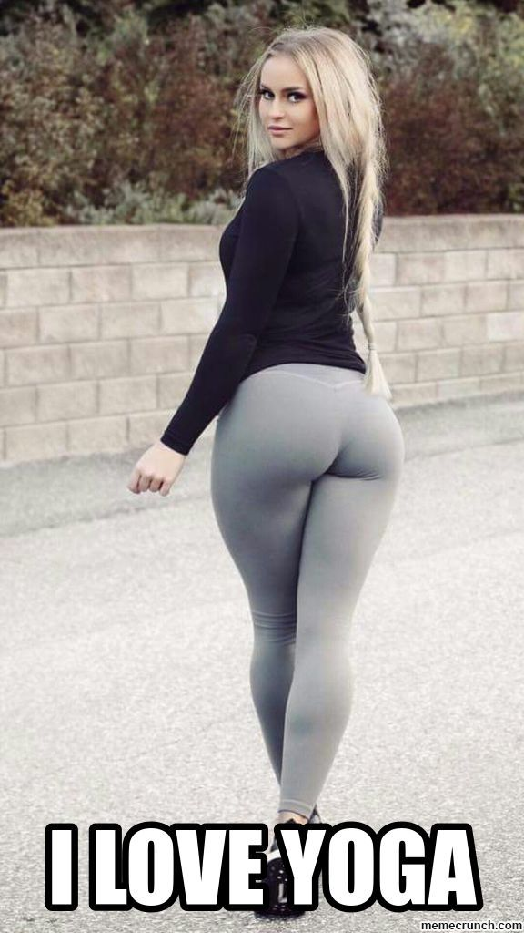 28 Yoga Pants Memes Men Are Grateful To Chip Wilson In 2020