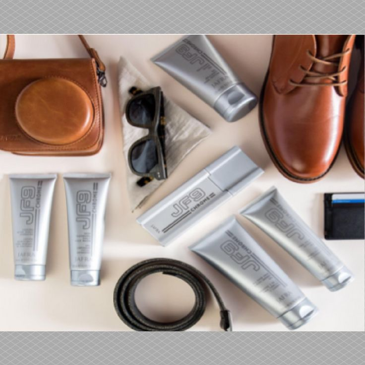 Give your guy JF9 Chrome Collection For Men. http://www.royal4skin.nl/contents/nl/d51_Jafra-Heren-huidverzorging.html