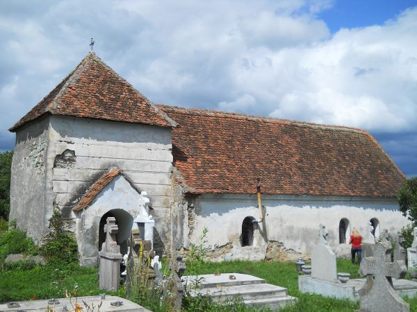 Sinca Veche - Biserica veche Ohaba