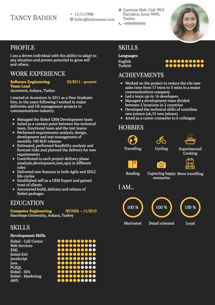 Accenture resume examples