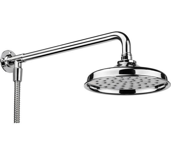 Buy Croydex Traditional Shower Head, Arm and Hose Set at Argos.co.uk - Your Online Shop for Shower accessories, Showers and accessories, Home improvements, Home and garden.