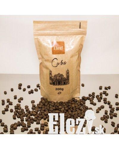 Káva Cuba | tá pravá pre Vás - elezi.sk | cukráreň Elezi - domáca zmrzlina, torty, zákusky