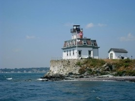 Rose Hill Lighthouse in Newport, Rhode Island. Great summer vacation spots on the east coast.  I spent many weekends here during my 4 year long distance relationship with my now fiance!