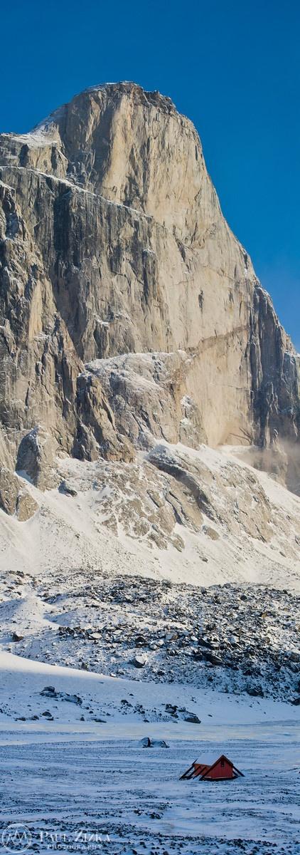 Auyuittuq's Most Impressive Mount Thor, Nunavut, Canada.