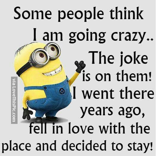 Some People Think I Am Gong Crazy Pictures, Photos, and Images for Facebook, Tumblr, Pinterest, and Twitter