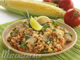 Indiai rizses csirke recept