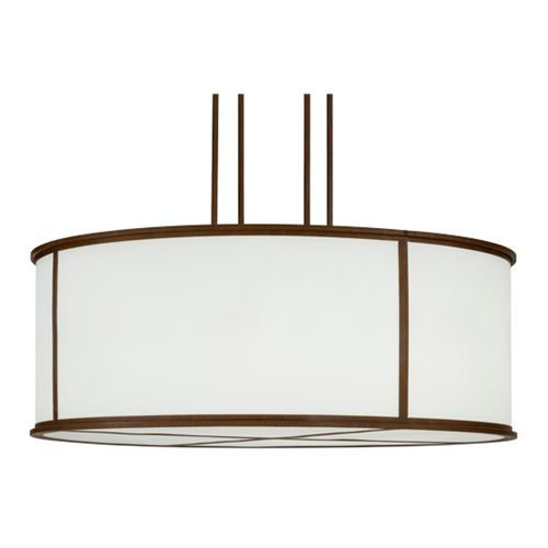 2nd Ave Lighting 871281.48 Arcas 10 Light Pendant in Rustic Iron