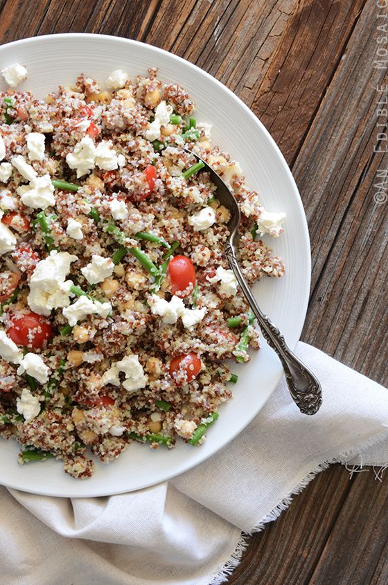 2-Grain Vegetable Salad with Chickpeas and Feta 2