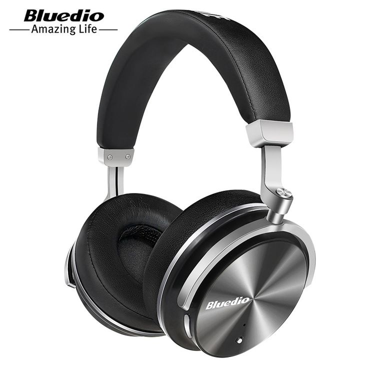 Bluedio T4 active noise cancelling wireless Bluetooth headphones ANC folable headset with Rotal design over ear headphone