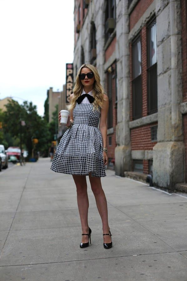 button down shirt with tube dress