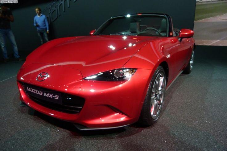 Mazda MX-5 2014: 4-го поколения празднует премьеру на парижском автосалоне