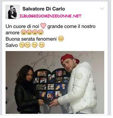Il regalo di Salvatore di Carlo a Teresa Cilia per il suo compleanno