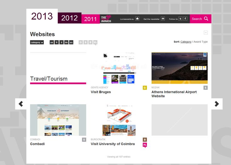 Mozaik is happy to announce that is a Silver Award Winner in The Lovie Awards 2013 for Athens International Airport Website in Travel/Tourism category!  Congratulations also to Greek Radial for a Silver Award in the same category with Combadi and niceandneat.gr for Bronze Award with OffRadio in category Media Streaming!  http://winners.lovieawards.eu/#!y=2013&wc=75  http://winners.lovieawards.eu/#!y=2013&wc=75&w=29  http://www.aia.gr/  More details soon.