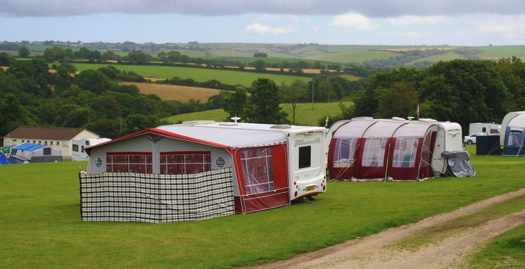 Look at the fantastic view camping at Meadow Lakes - season is 15 March to 3rd November 2014