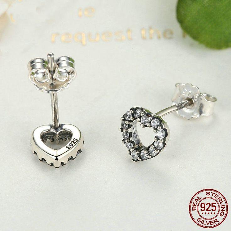 Romantico Mio Valentino orecchini con Cuore 100% Argento sterling 925 Per donne di classe originali gioielli per ragazze regalo anniversario di OceanBijoux su Etsy