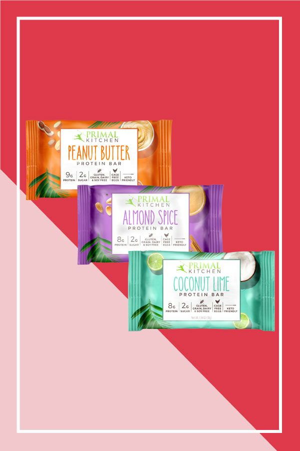 If You Follow The Keto Diet There S A Good Chance You Ve Heard Of Primal Kitchen The Brand S H Keto Friendly Protein Bars Healthy Pantry Staples Protein Bars