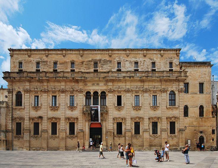 Palazzo del seminario - Lecce Puglia Italy