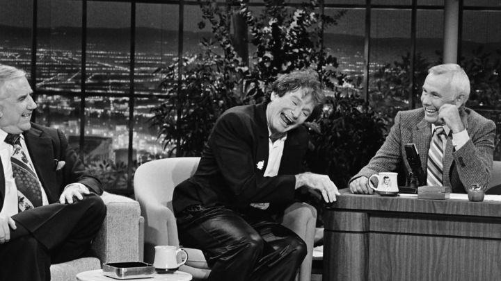 Robin Williams on The Tonight Show, Oct. 14, 1981 - with Ed McMahon & Johnny Carson