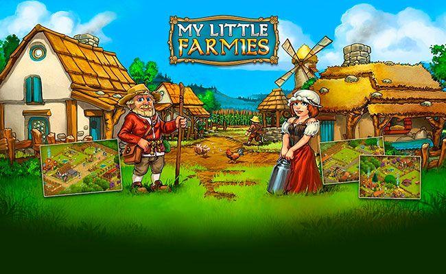 My Little Farmies Como agricultor novato trata de convertir la tierra a una tierra que mana leche y miel, donde el único punto de vista, es campo sembrado