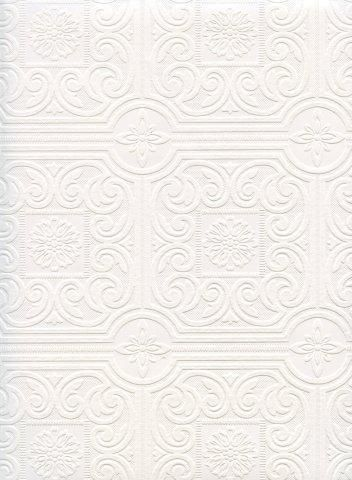 Interior Place   Wall Trends Tiles Paintable Wallpaper, $15.99