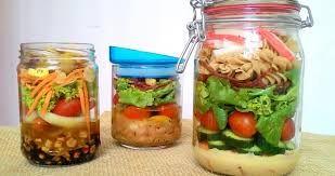Resultado de imagem para salada no pote