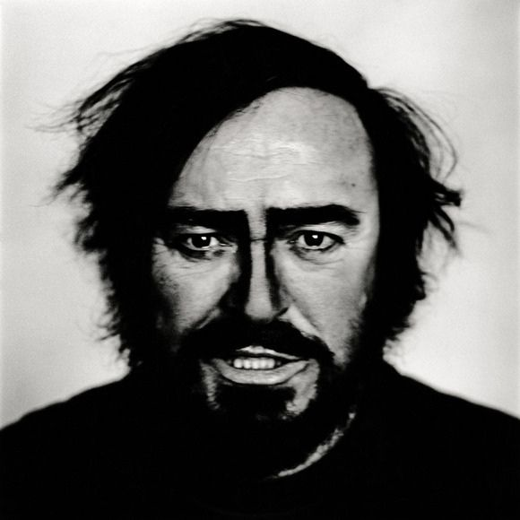 Luciano Pavarotti by Anton Corbijn