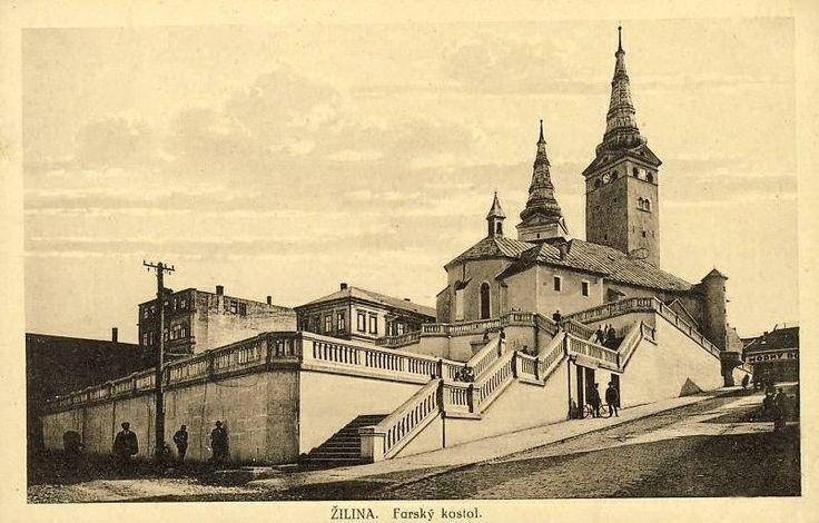 old Žilina Slovakia www.facebook.com/pages/Slovensko-na-historickych-fotografiach