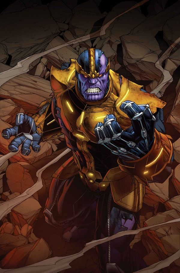 LEGO Thanos Infinity War Mini-Figure With Infinity Gauntlet Revealed?!? #Marvel